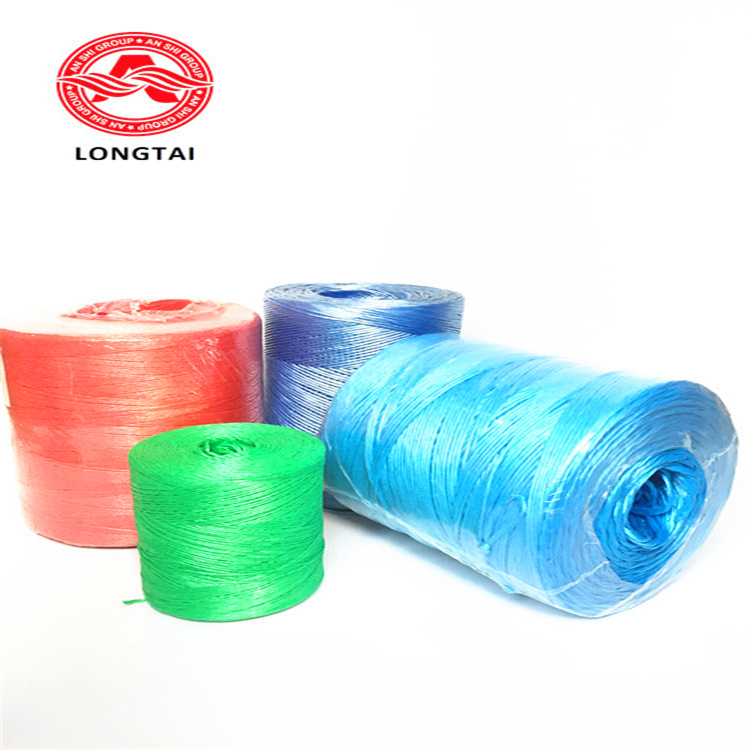 Agricultural strapping rope